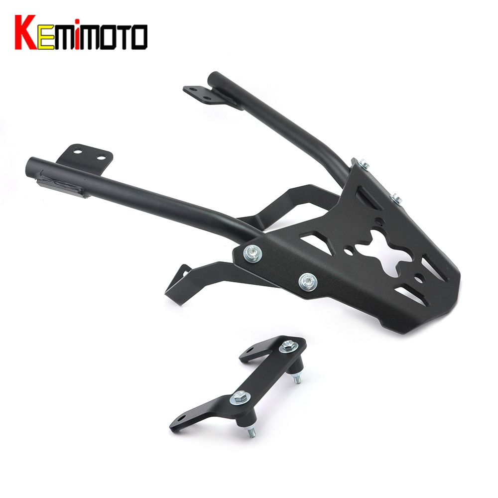 KEMiMOTO for KTM 390 125 200 Duck RC Rear Grab Bar Wide handle Grab Motorcycle Goods shelf Storage Rack Passanger Grab Bar for ktm excr