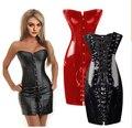 Сексуальная мода ПВХ повязку корсет Корректирующее Белье для женщин ретро 2015 ремни женский полный пояс Тело скульптуры одежды
