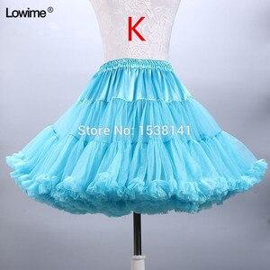 Image 5 - ยืดTulle Petticoatผู้หญิงTuTuสั้นกระโปรงร้อนขายงานแต่งงานอุปกรณ์เสริมสต็อกPetticoatsชุดสาว2019