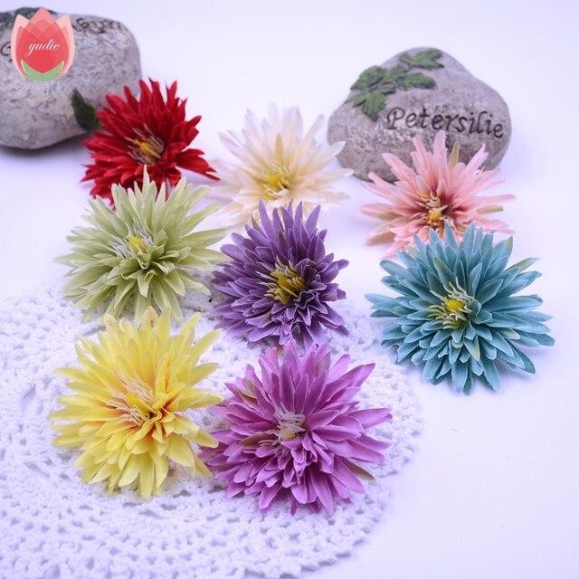 En Gros 50 Pcs Soie Gerbera Fleur Artificielle Pour Le Mariage La