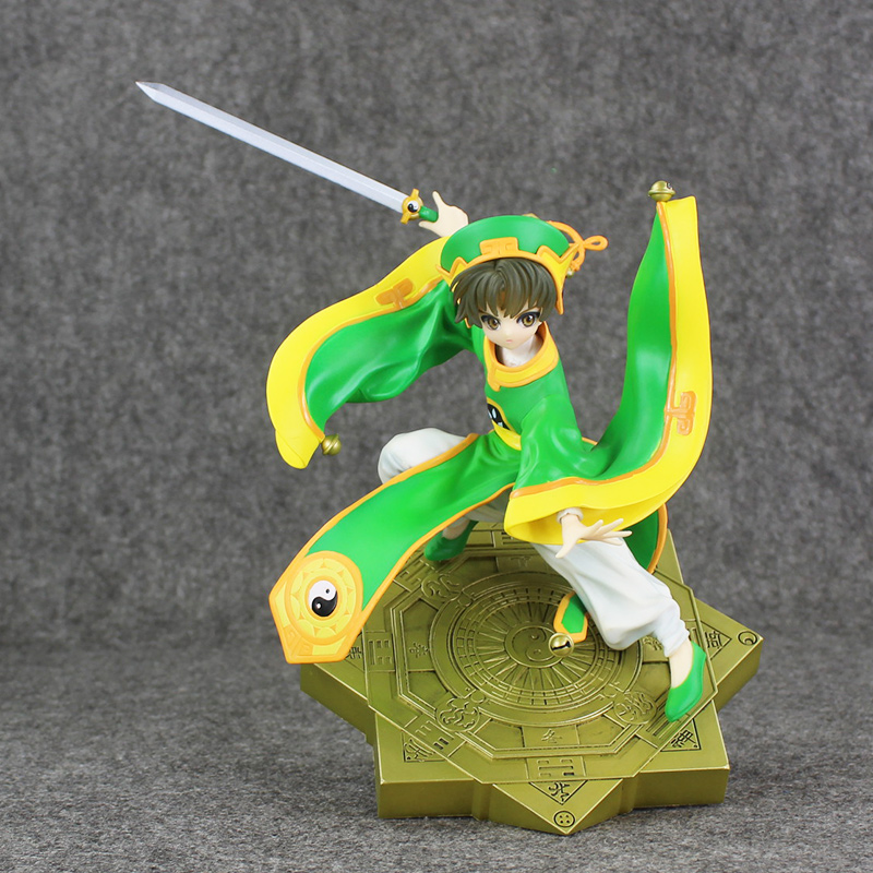 Sakura carte Captor Li Syaoran PVC figurine d'action Garage Kit Anime jouets 26 cm Collection poupée modèle jouet cadeau pour enfants livraison gratuite