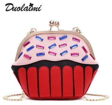 цена на Princess sweet lolita bag Summer fashion and casual panelled single shoulder bag Korean version shell Satchel Bag women DLM039