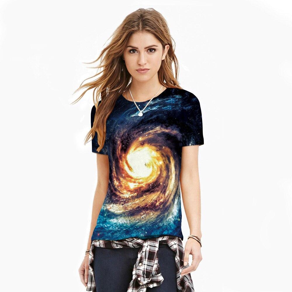 Mr.1991INC 2018 New Hot Men/Women t shirt Short Sleeve Summer 3D Spiral sky creative printing T-shirt Tops Tees S-3XL NA300