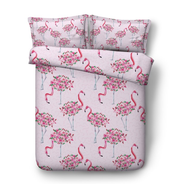 Flamingo Bedding Sets Bed Sheet 3d Duvet Cover Set Bed In