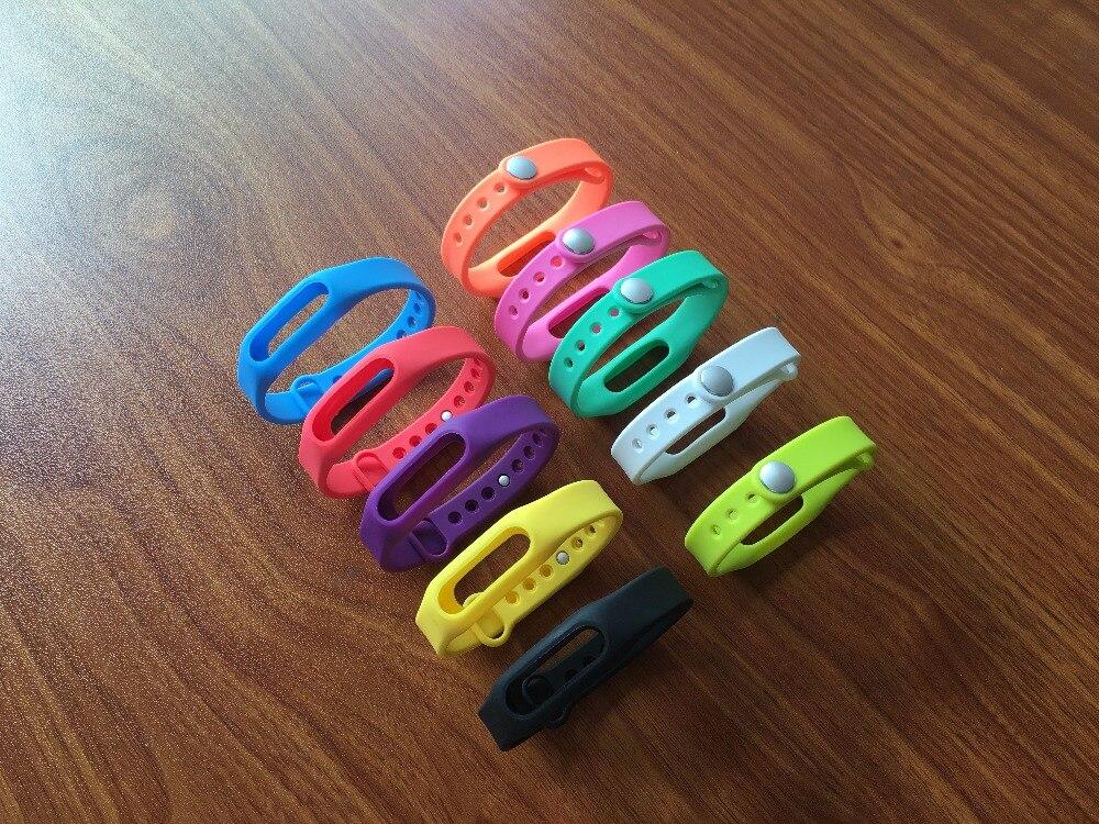 все цены на Xiaomi Mi band Smart Wristband Silicone Replace Belt Strap Mi Band Bracelet For MI Smart Wristband S1 1S 1A S 1 Wearable Wrist онлайн