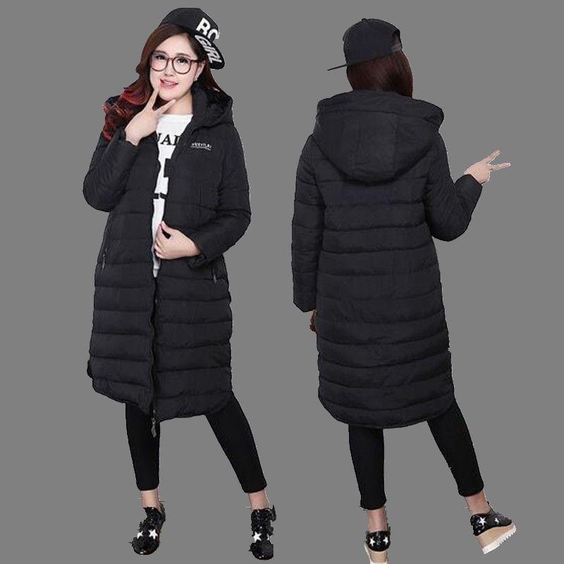 2016 New Winter Women Jacket Casual Slim Big yards Warm Cotton Down Jacket Coat Medium Thicken