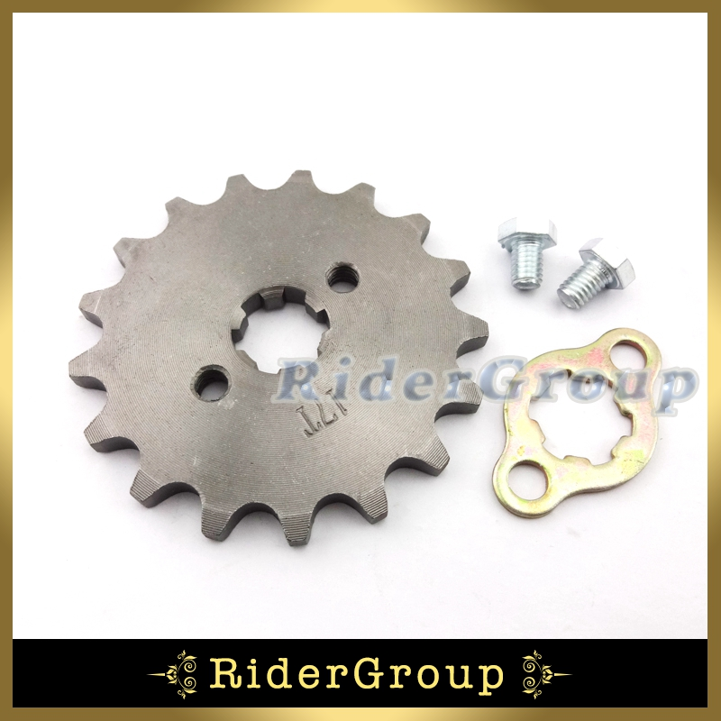 Back To Search Resultsautomobiles & Motorcycles Engines 428 17mm 18 Tooth Front Engine Sprocket Gear For 50cc 70cc 90cc 110cc 125cc 140cc 150cc 160cc Dirt Pit Bike Atv Lifan Yx Engine A Wide Selection Of Colours And Designs