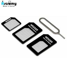 Micro Nano sim-карта адаптер разъем комплект для iPhone 6 7 plus 5S Huawei P8 lite P9 Xiaomi Redmi Note 4 Pro 3S 3 Mi5 sims держатель