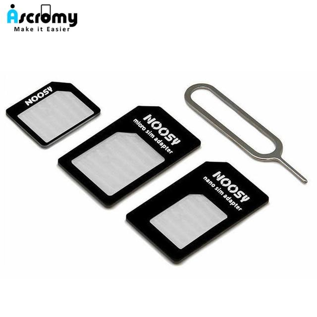 Micro tarjeta SIM Nano adaptador de conector para iPhone 6 7 plus 5S Huawei P8 lite P9 Xiaomi Redmi Note 4 Pro 3 S 3 Mi5 sims titular