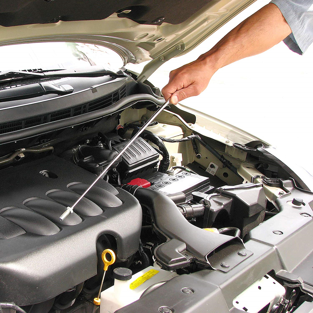 Mini Magnetic Pick Up Stick Portable Garage Use Magnet Pen Tool Nut Bolt Engine