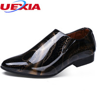 Mens Shoes Dress Sales Leather Black Brown Fashion Formal Business Male Shoes Wedding Brogue Formal Leather
