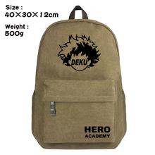 My Boku No Hero Academia Cosplay Backpack Izuku Midoriya Rucksack Teenagers Schoolbag Shoulder Bags