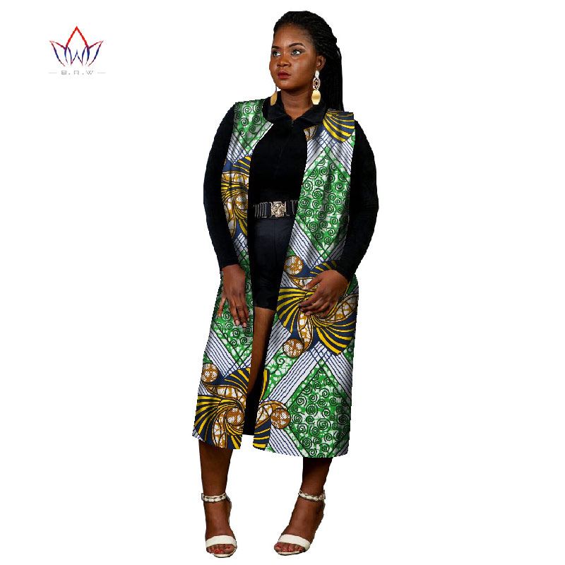 Ankara Women African Traditional Clothing Fashions Tops