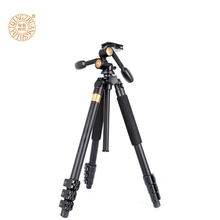 3 Way panhead camera tripod Q620 1830mm height & 20kg loading kamera stand more stable easy for high angle shooting