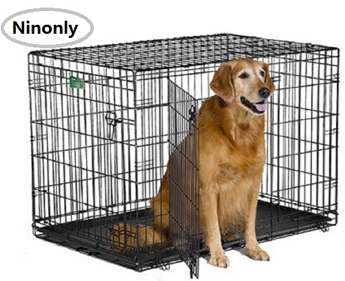 Big Dog Crate Metal Carry Case With Handle Collapsible Wire Pet Dog Cage  Easy To Install Quality Insurance Door Safe Dog House In Houses, Kennels U0026  Pens ...