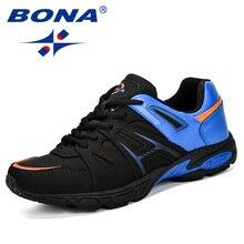 BONA Lightweight Outdoor Sports Shoes Men Sneakers Comfortab