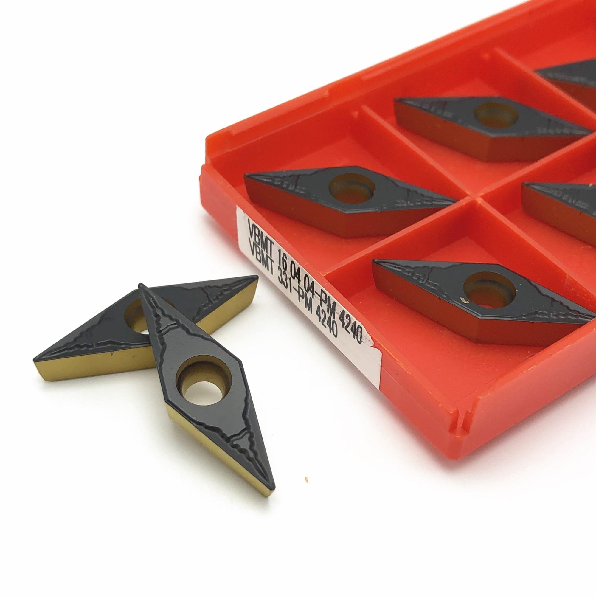 Turning tool VBMT160404 PM 4240 high quality carbide insert CNC machine tool milling cutter VBMT160408 lathe bladeTurning tool VBMT160404 PM 4240 high quality carbide insert CNC machine tool milling cutter VBMT160408 lathe blade