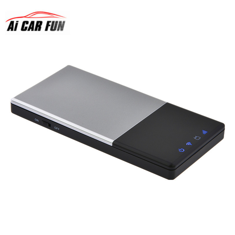Car HD Wireless TV Box DVB-T / T2 Mobile Digital TV Receiver Outdoor Portable FOR iOS / Android Portable Mobile TV Box DVB-t2 dvb t isdb digital tv box for our car dvd player