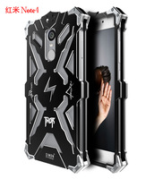 Simon THOR IRONMAN Shockproof Outdoor Metal Cover For Xiaomi Redmi Note 4 Aluminium Frame Anti Knock