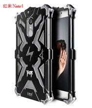 Simon THOR IRONMAN Antichoc Extérieure Couverture Arrière En Métal Pour Xiaomi Redmi Note 4x Aluminium Anti-frapper Cas Xiaomi Redmi Note 4