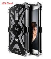 Simon THOR IRONMAN Shockproof Outdoor Metal Cover For Xiaomi Redmi Note 4 Aluminium Frame Anti Knock