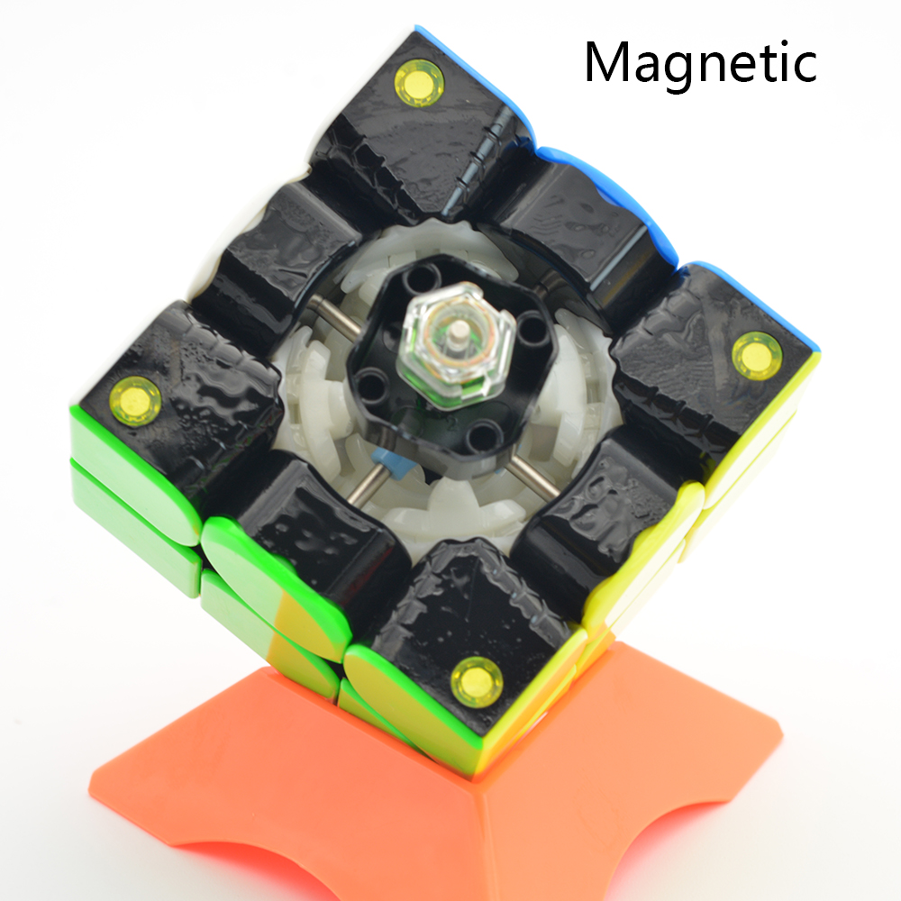 GAN354M 3x3x3 Cube magique sans autocollant avec aimant Gan 354 M Puzzle vitesse Cube pour WCA professionnel Cubo Magico Gan 354 M jouets - 5