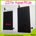 China supplier For huawei P8 lite LCD Display Screen with touch screen digitizer assembly Black or white +Tools Free shipping