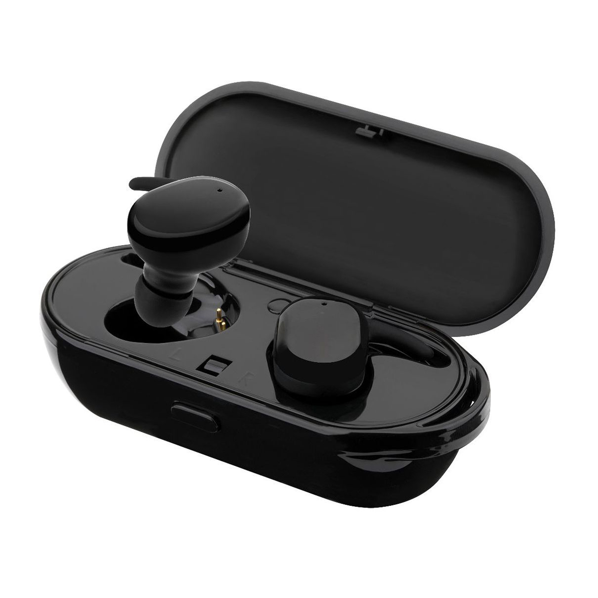 Top Deals Professional Waterproof Touch True Sport Wireless Earbuds TWS Mini Bluetooth Earphone Earpiece with Power Storage Or