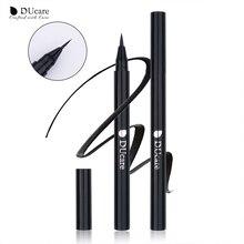 DUcare Eyeliner Pencil Liquid Black Waterproof Eyeliner Long-lasting Eye Liner Pen Dry Fast Makeup Essential Beauty Tools все цены