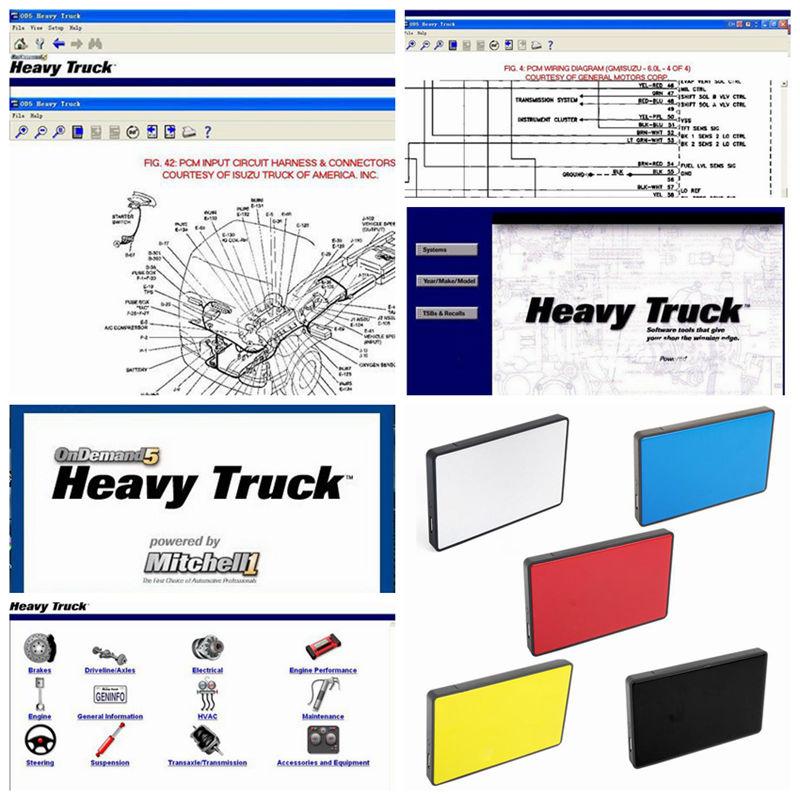 2019 Hot Auto Repair Data Software Mitchell Ondemand5 Heavy Truck Auto Diagnostic Software Car Repair Information Service Manual
