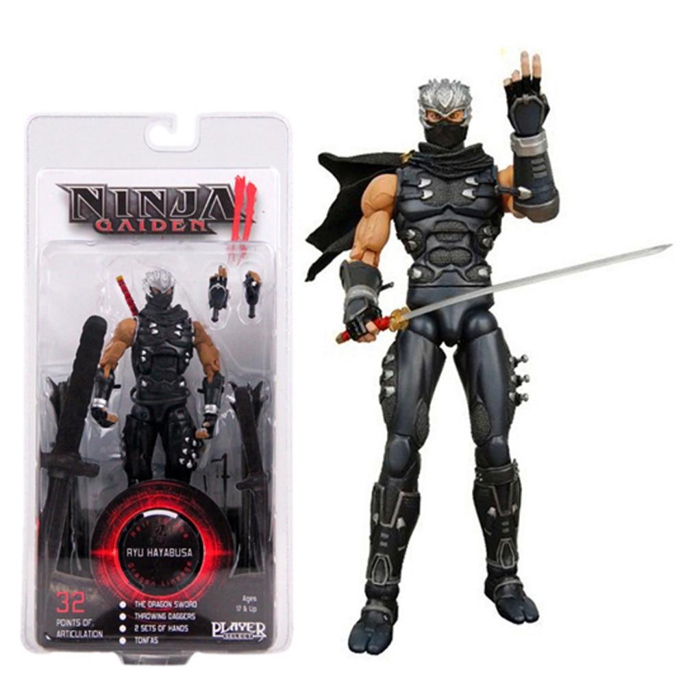 New Master Ninja Gaiden XBox 360 Game Ryu Hayabusa Action Figures Collection Toy