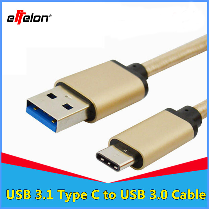Effelon Usb 3.1 Type C to usb 3.0 A Male Cable For Macbook ...