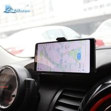 Velocidade MINI Suporte Carro Montar Titular Do Telefone Suporte Do Telefone Móvel Volante Auto Traseiro para Mini Cooper R60 R61 Acessórios