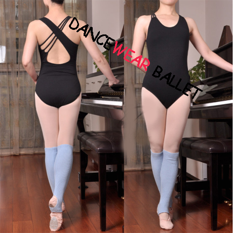 new-arrival-fashion-adult-women-black-hot-pink-asymmetry-unequal-font-b-ballet-b-font-leotard-dance-gymnastics-leotard