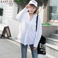 Women Blouses Shirts Long Sleeve White Side Split Zipper Women Blouse 2016 Women Spring Fashion Side