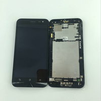 1280x720 LCD Display Glass Panel Touch Screen Glass Digitizer Assembly With Frame 5 For Asus Zenfone