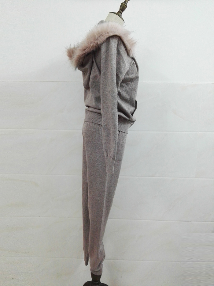Winter Knitted Suit for Women 11