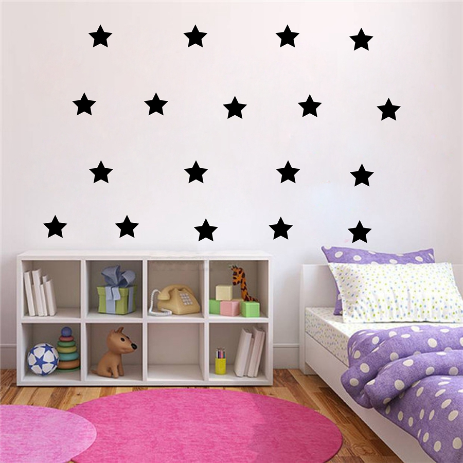 Gold stars wall decal vinyl stickers golden star kids rooms wall gold stars wall decal vinyl stickers golden star kids rooms wall art nursery decor stickers in wall stickers from home garden on aliexpress alibaba amipublicfo Image collections