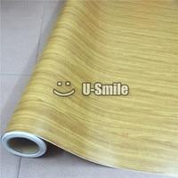 Wood Vinyl Sheet WOOD GRAIN Texture Vinyl Wrap Sticker Decal Sheet For Auto Interior Furniture Wall