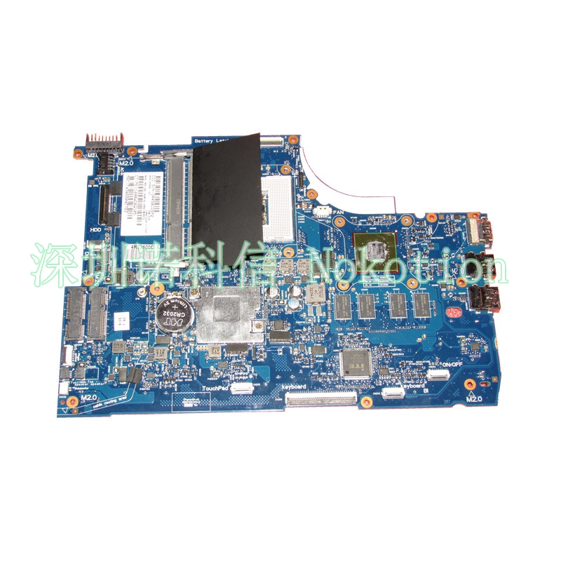 NOKOTION 720566-501 720566-001 Laptop Motherboard for HP ENVY 15 15T-J000 15T-J100 GeForce GT740M 2GB DDR3L Mainboard nokotion 720566 501 720566 001 laptop motherboard for hp envy 15 15t j000 15t j100 hm87 ddr3l gt740m 2gb gpu