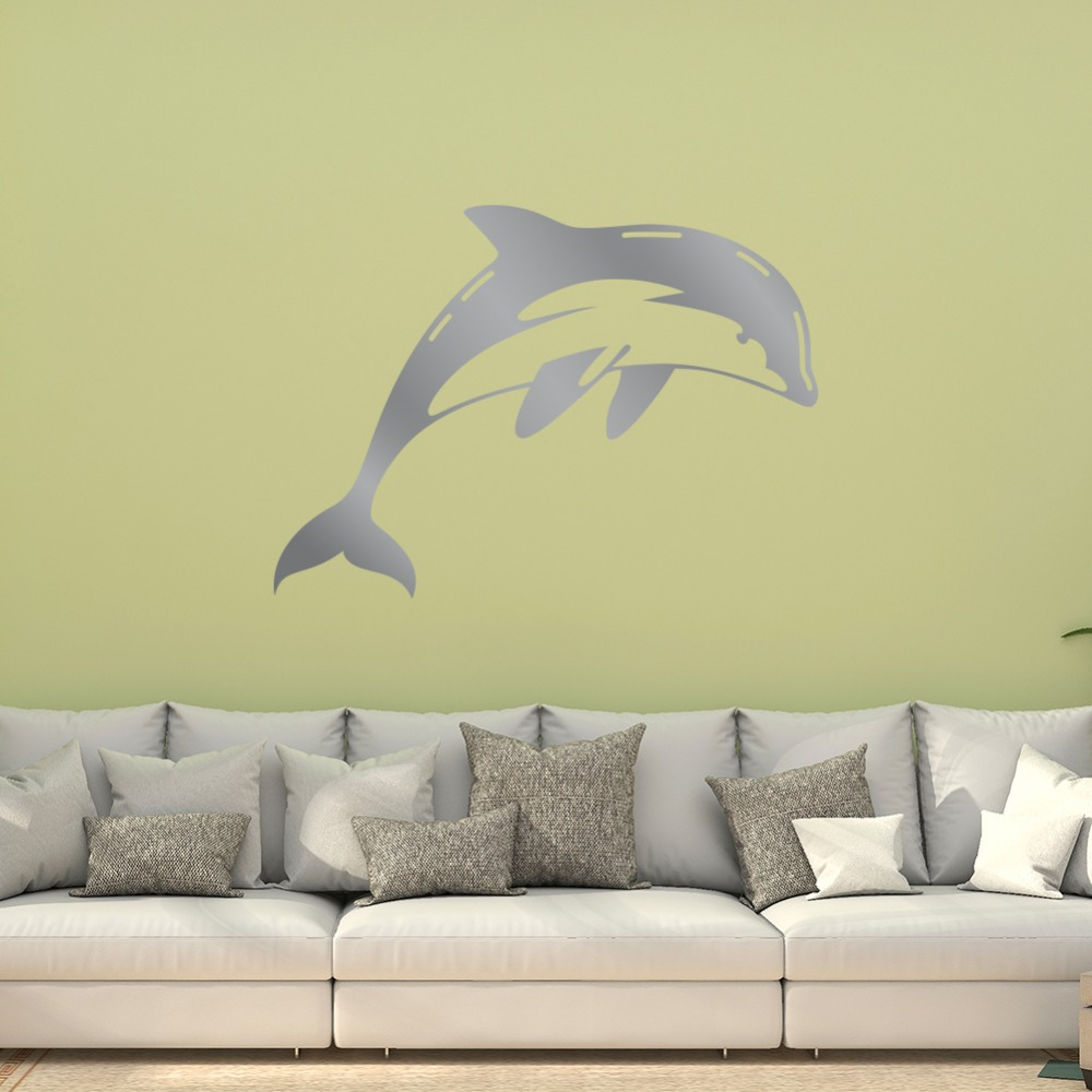 Contemporary Dolphin Wall Decor Inspiration - The Wall Art ...