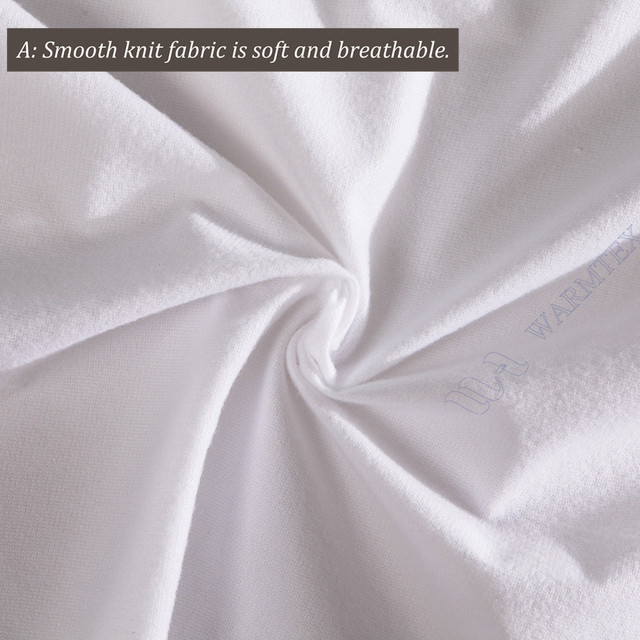 Full Size 135x200cm 135m Bed Cheap Basic Mattress Protector Knit