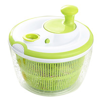 Salad Spinner with Pouring Spout 5L Large Capacity Vegetables Dryer Sieve Strainer Colander Basket MYDING