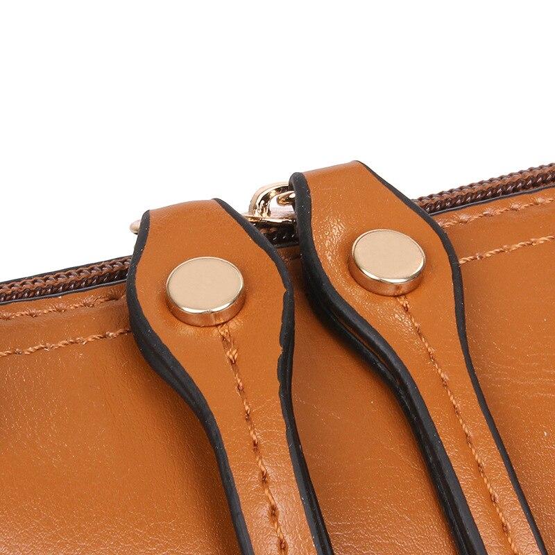 couro/bolsa bolsas de ombro bolsa Size : 25h X 33l X 11w (the Largest One)