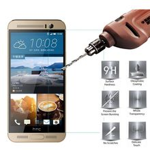 цена на Tempered Glass for HTC One M9 Screen Protector Protective Film HTC Phone ,on Mobile Phone for HTC One M9 Glass