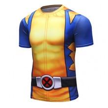 CODY LUNDIN Men Summer PRO short sleeve T-shirt fitness tights rasgard clothes quick drying Rashguard