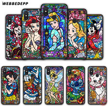 WEBBEDEPP Pooh fairy tale stained Alice Mickey Mouse Soft Silicone Case for Xiaomi Mi 6 8 9 SE MAX 3 A1 A2 Lite F1 Cover(China)