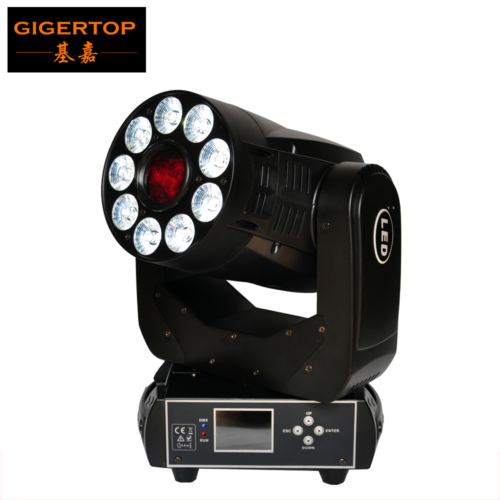 TIPTOP Stage Light TP-L6K2 200W Led Moving Head Light 2IN1 Spot+Wash 1x75W White/9*12W RGBWA UV 6IN1 Tyanshine Color/Gobo Wheel discount price 2 pack 200w led moving head spot wash 2in1 light 75w white 9 12w rgbwa purple leds mini rotate gobo color wheel