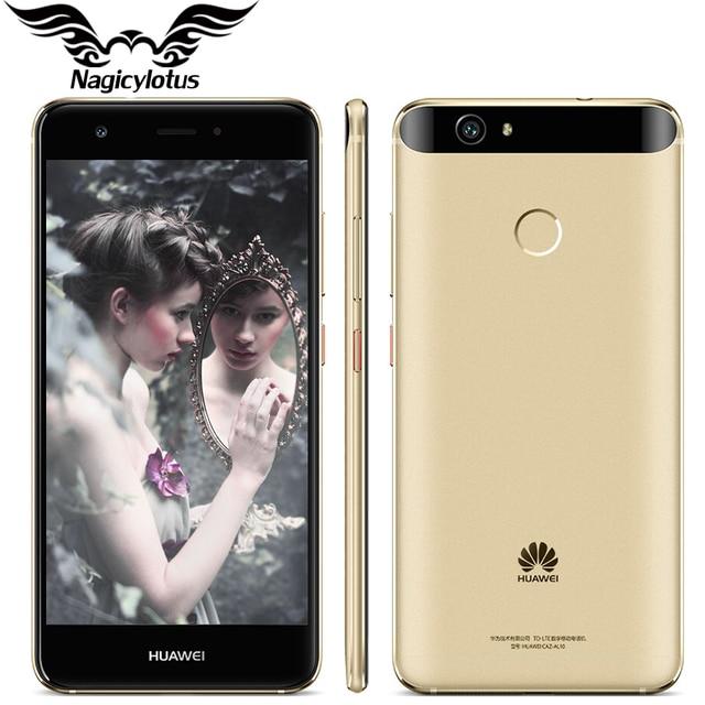"Original Huawei Nova 4G LTE Mobile Phone 3GB 32GB MSM8953 Octa Core 2GHz 5.0"" FHD 1920X1080px Dual SIM 12MP 3020mAH Fingerprint"