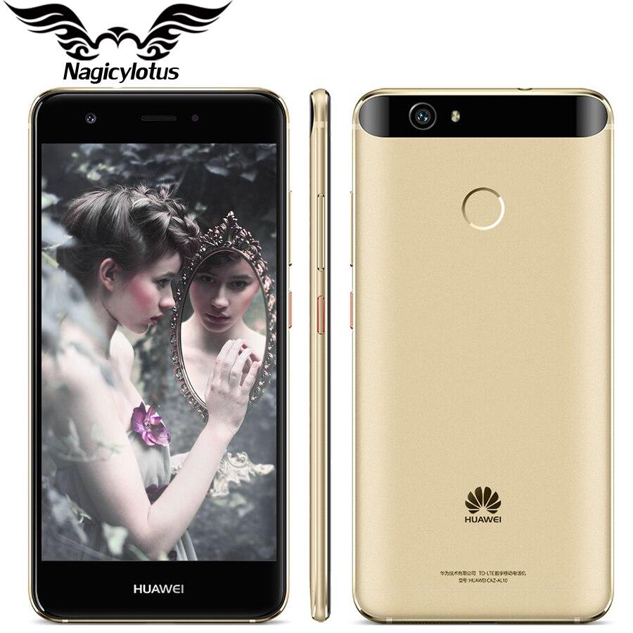"Original Huawei Nova 4G LTE 3GB 32GB MSM8953 Octa Core 2GHz 5.0"" FHD 1920X1080px Dual SIM 12MP 3020mAH Fingerprint"